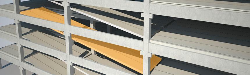 Fundação profunda de bloco sobre estacas hélice contínua para um pavimento térreo 10